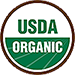Our organic products carry the USDA symbol