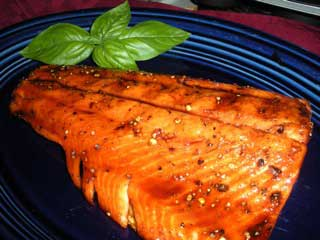 Grilled Steelhead Trout Fillets