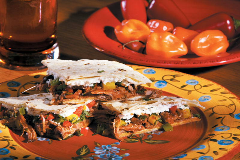 Pulled Pork Quesadillas « Coombs Family Farms