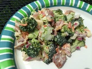 Maple Bacon Broccile Salad copy