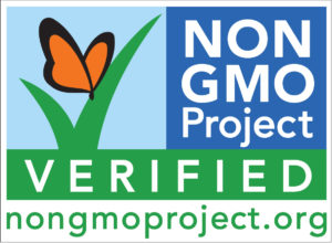 We are Non-GMO certified!