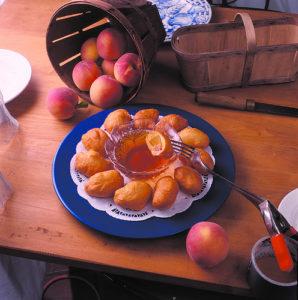 peach-fritters