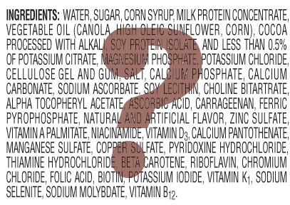 Ingredients-label