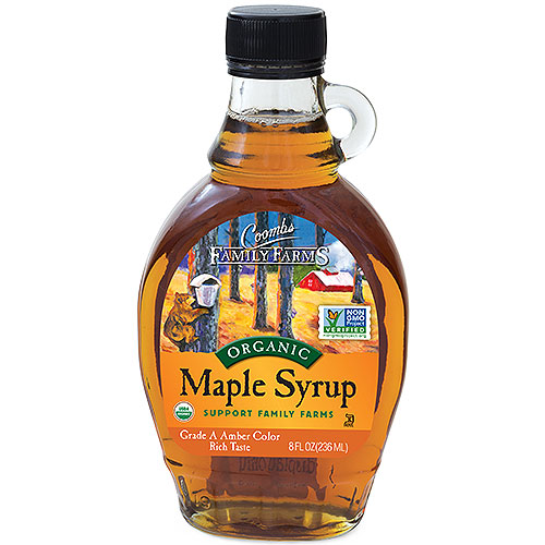 Grade A Amber Color Rich Taste Organic Maple Syrup