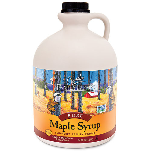 Grade A Dark Color Robust Taste Pure Maple Syrup