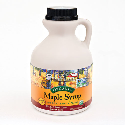 Grade A Dark Color Robust Taste Organic Maple Syrup