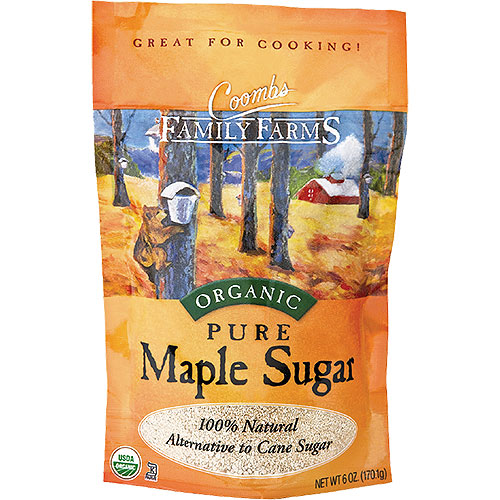 6 oz Organic Maple Sugar in Resealable Pouch