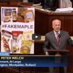 thumbnail image of Cong. Peter Welch speaking on the House floor.