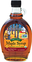 Taste some organic maple syrup today!